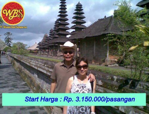 Paket Bulan Madu di Bali 3 Hari 2 Malam : Edisi Relax