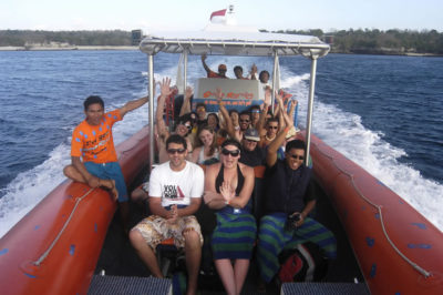 Bali Hai Cruise - 3 island ocean rafting 02