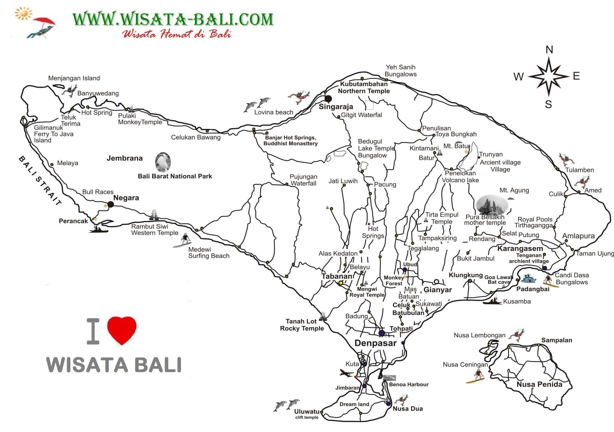 Paket Tour Spesial Di Bali Wisata Ke 3 Negara Gallery