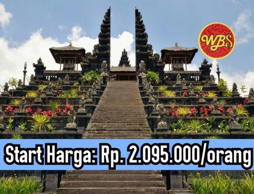 Paket Wisata di Bali 3 Hari 2 Malam : Edisi Wisata Keliling Bali Timur