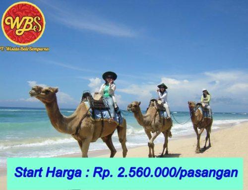 Paket Bulan Madu di Bali 3 Hari 2 Malam : Edisi Adventure