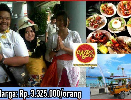 5 Hari 4 Malam Bali – Gili Trawangan – Lombok Tour