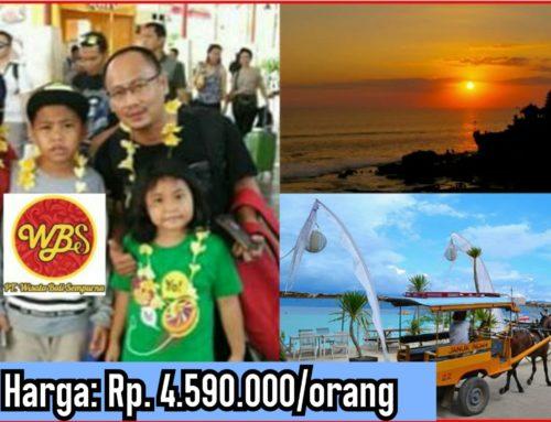 7 Hari 6 Malam Bali – Gili Trawangan – Lombok Tour