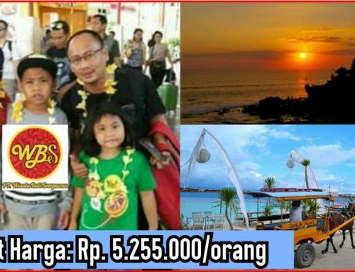 8 Hari 7 Malam Bali – Gili Trawangan – Lombok Tour