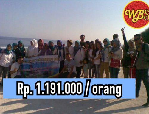 Paket Rombongan Wisata di Bali 4 hari 3 malam