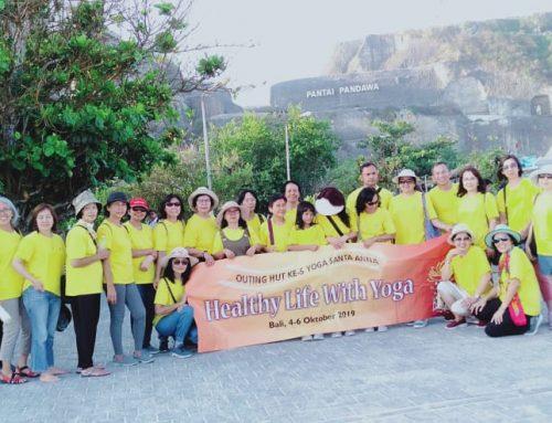Keseruan Grup Outing Yoga St. Anna di Bali 2019