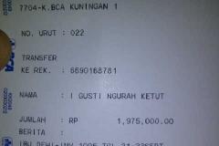 6-sep Bukti Transfer Ibu Dewi paket wisata 3D2N(4pax)